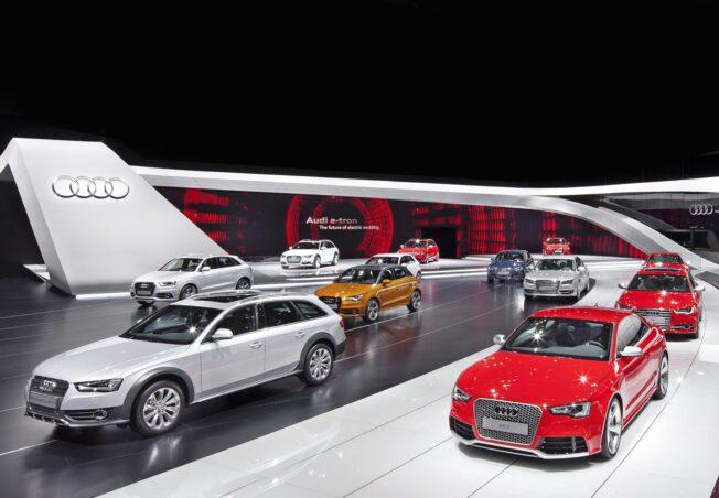 Audi Genf 2012