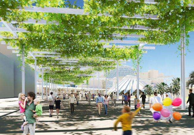 Shade Structure – Expo 2020