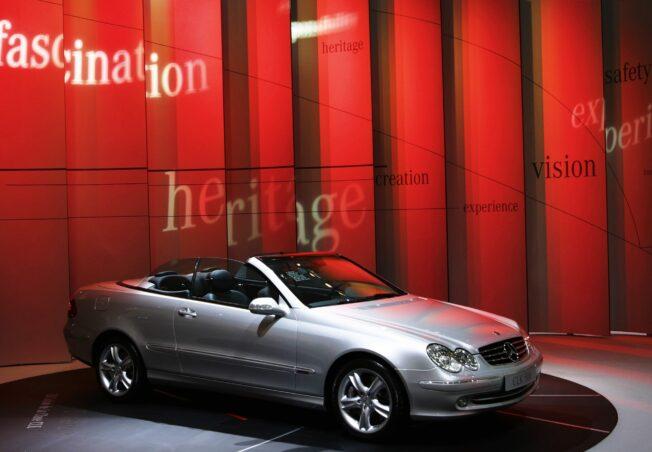 Mercedes-Benz Messestände