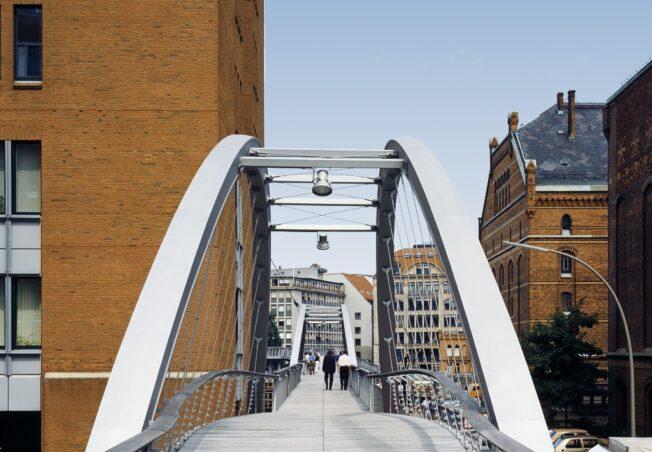 Hamburg Wharfs Bridge