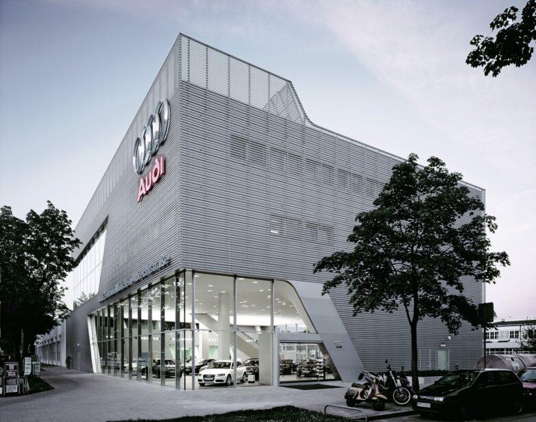 Concrete / Audi Vertriebszentrum München 1